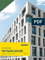 Fair-faced Concrete With Doka 2010-11 En