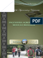 Agronomia Modulo Biologia 2014