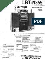 Sony Lbt n355