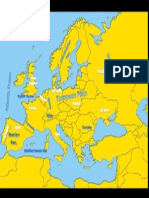political and physical map of europe
