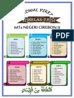 Jadwal Piket 7E 2014 2015 PDF