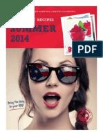 Summer Fun Cranberry Recipes 2014