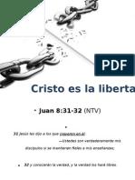 Cristo Es La Libertad