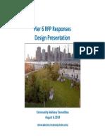 CAC Pier 6 Design Presentation - 08.06.14