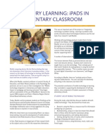21st century learning- ipads in the elementary classroom