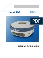 Manual Gps Sokkia Grx 1