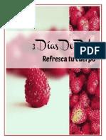 Freebie e Book 3 Dias de Detox Sin Recomendacion de Productos.1