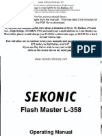Sekonic Flash L-358