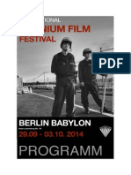 Berlin Internationales Uranium Film Festival 2014 - Programm in Deutsch