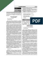 DS 04-2014 MINAGRI [Aprueba La Actualizacion de La Lista de Clasificacion y Categorizacion de Las Especies de Fauna Amenazadas de Fauna Silvestre Legalmente Protegidas]