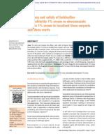 eberconazole vs terbinafine
