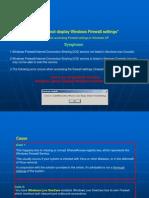 Reparacion de Firewall