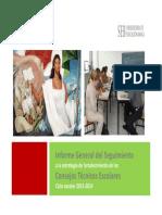Informe General de Seguimiento a Las Estrategias de Los CTE.