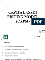El Capital Asset Pricing Model 2012