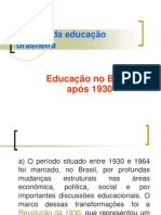 5) Educação No Brasil Após 1930