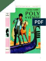 Aubry Cécile Poly 05 Poly à Venise 1970