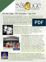 EEC Newsletter June 2014