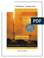 Interpreter of Maladies Jhumpa Lahiri