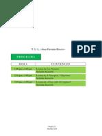 Cuarta Sesic3b3n t l l Juan Germc3a1n Roscio Modelo de Protocolo de Lectura