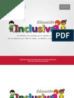 Educación Inclusiva. SEP-AFSEDF. 2013