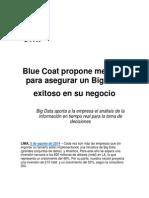 Blue Coat Propone Medidas Para Asegurar Un Big Data Exitoso en Su Negocio