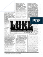 1996 Issue 7 - Sermon on Luke 5:33-39 - The Lord of the Sabbath and Biblical Law - Counsel of Chalcedon