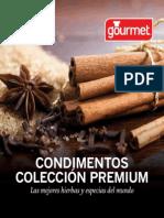 Recetario Premium Gourmet