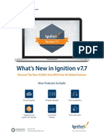 What's New Ignition v7.7