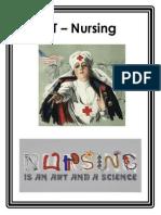 RT Nursing - LCCN Shelf Poster