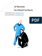Survey of Remote Attack Surfaces