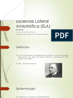 Esclerosis Lateral Amiotrófica