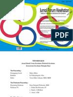Jurnal Forum Kesehatan Vol IV Nomor 7, Pebruari 2014.pdf