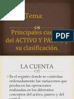 1.3 Principales Ctas de Activo y Pasivo y Su Clasif