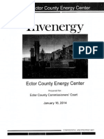 Invenergy Handout in 2014 to County Commissioners