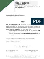 Petição de Juntada de Procuração