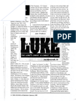 1997 Issue 1 - Sermon on Luke 6:12-16 - The Lives of the Twelve Apostles Part 2 - Counsel of Chalcedon