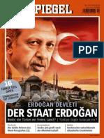 32/2014 (August 4, 2014) of DER SPIEGEL. Erdogan Ozel Sayisi