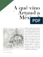 Enrique Flores - A Qué Vino Artaud a México