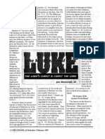 1997 Issue 2 - Sermon on Luke 6:17-49 - The Sermon on the Mount According to Luke - Counsel of Chalcedon
