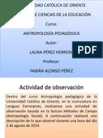 Presentación-Antropología