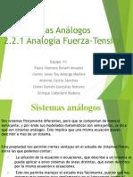 Sistemas Análogos Fuerza-Tensión