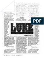 1997 Issue 3 - Sermon on Luke 6:17-49 - The Setting of the Sermon on the Mount - Counsel of Chalcedon