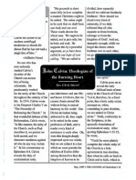 1997 Issue 4 - John Calvin