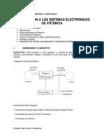 Clase 1 - Introducción a Los Sistemas Electrónicos de Potencia 2011