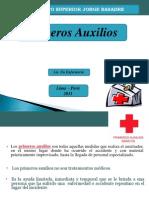 PRIMEROS+AUXILIOS 3ra Clase