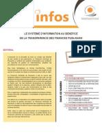 Systèmes d'Information TGR
