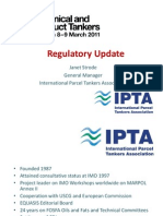 IPTA Regulatory Update