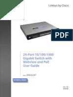 SRW2024P User Guide