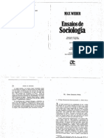 Weber Max Cap Vii Classe Estamento Partido in Ensaios de Sociologia