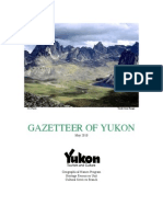 Yukon Gazetteer of Place Names